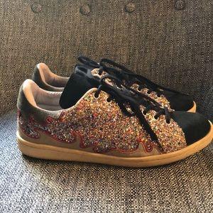 Isabel Marant Gilly Glitter Sneaker